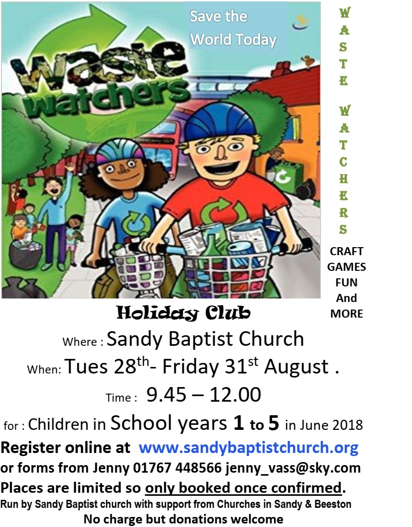 Waste Watchers Holiday Club